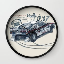 Legend of GROUP B: Lancia 037 Rally Wall Clock