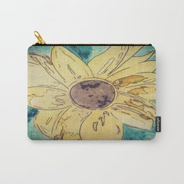 Sunflower madness Carry-All Pouch