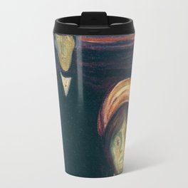 "Edvard Munch ""Anxiety"" 1894 Travel Mug"