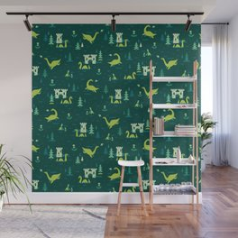 Cryptid Cuties: The Lochness Monster Wall Mural