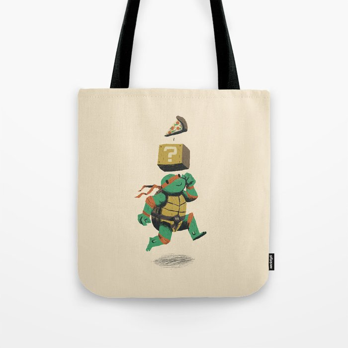 turtle power..up Tote Bag