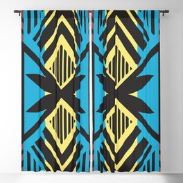 American Native Pattern No. 202 Blackout Curtain