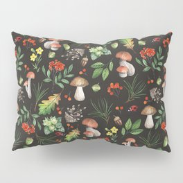 Forest. Brown pattern Pillow Sham