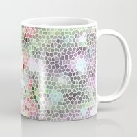 crystals Mugs featuring Crystals by Rossella