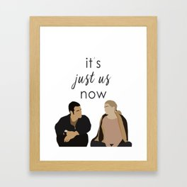 ALEX AND MEREDITH - MERLEX - GREY'S ANATOMY Framed Art Print