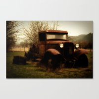 ford Canvas Prints featuring Ford by Urban Frame Photography