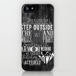 Unmarked - Step Outside The Walls iPhone Case