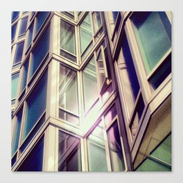 Metal Reflections Canvas Print