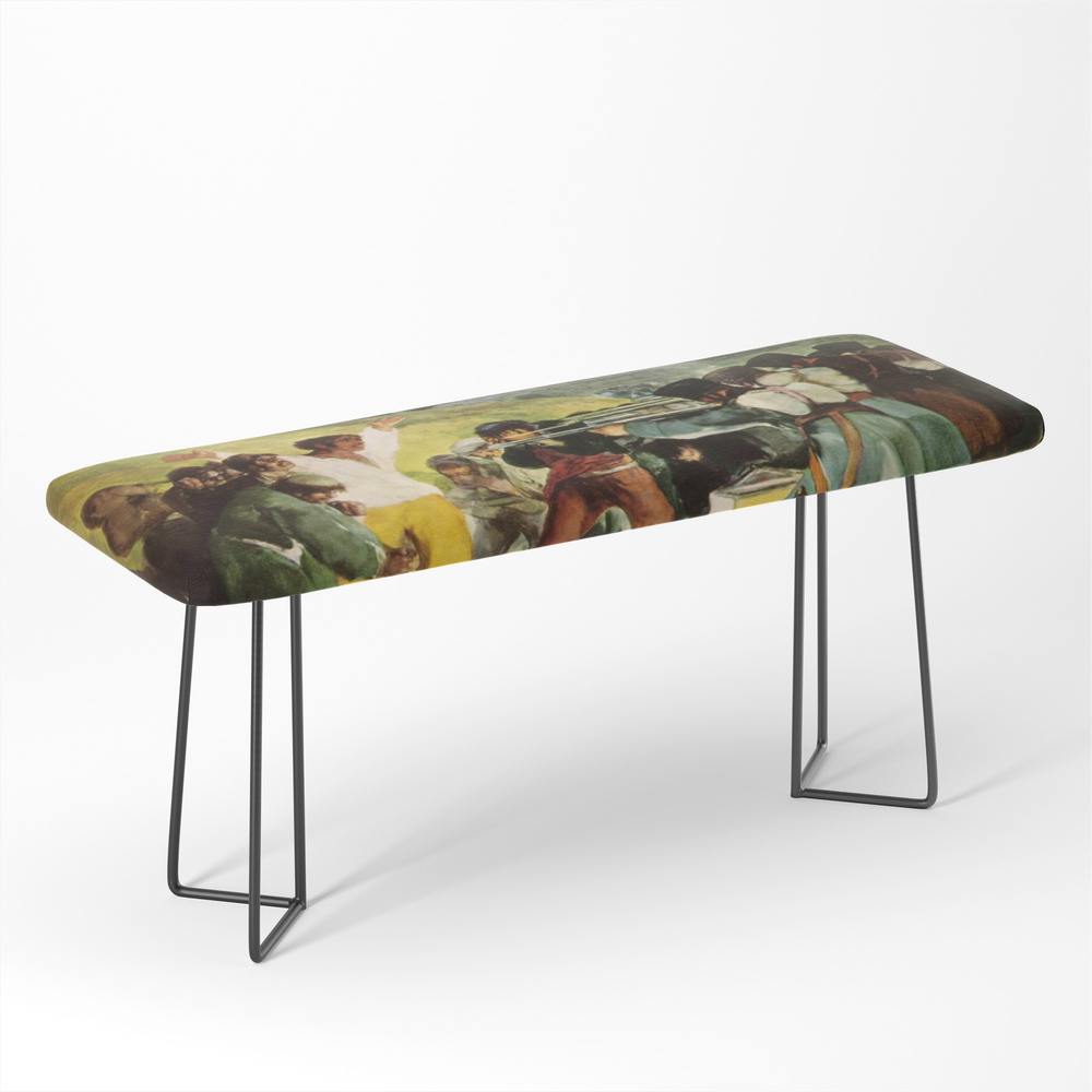 The_Third_Of_May_1808_By_Francisco_Goya_Bench_by_colorfuldesigns