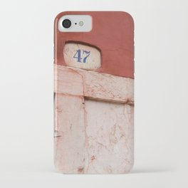 red 47 iPhone Case