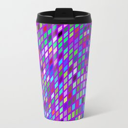 Lilac colorful Mosaic Travel Mug