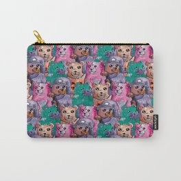 teddy magic bear pattern Carry-All Pouch