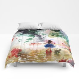 Not in Kansas Anymore Comforters