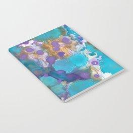 Blue Blossom Notebook