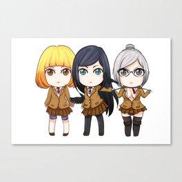 Prison School Girls Canvas Print