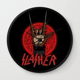 Slasher movie Wall Clock