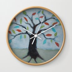 Color My World Wall Clock