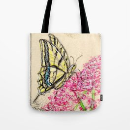 Collette's butterfly Tote Bag
