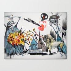y-------y Canvas Print