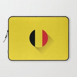 Minimal Belgium Flag Laptop Sleeve