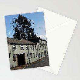 Jackdaw murmuration Stationery Cards
