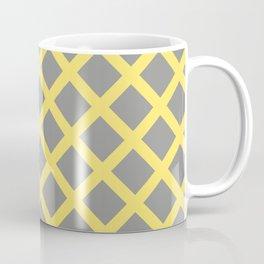 Grey and Yellow Grill Coffee Mug
