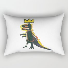 Dinosaur: Homage to Basquiat Rectangular Pillow