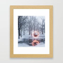 Q2x Framed Art Print