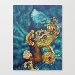 Wilting in Winter Canvas Print