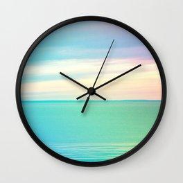 Serenity on Lake Superior Wall Clock