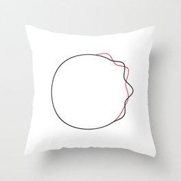 Duo Tone  Throw Pillow