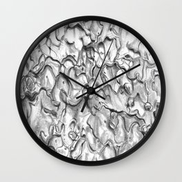Ponderosa Pine- Tree Bark 2 Wall Clock
