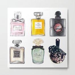 Perfume Collection Metal Print