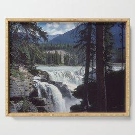 Athabasca Falls 5 Serving Tray