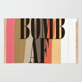 Bomb AF! Rug