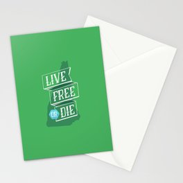 Live Free or Die Stationery Cards