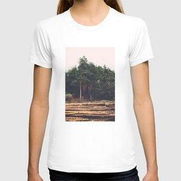 Sad timber industry T-shirt