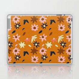 Fall flowers pattern Laptop & iPad Skin