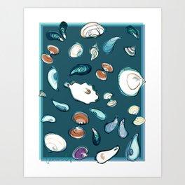 Mollusks Art Print