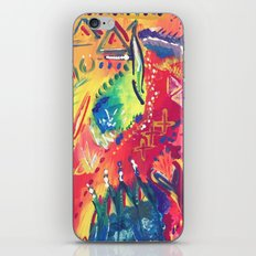 Splashes of colour iPhone & iPod Skin