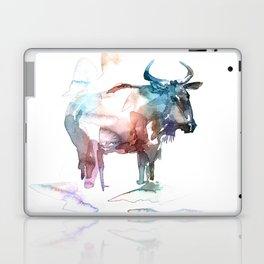 Wildebeest 2 / Abstract animal portrait. Laptop & iPad Skin