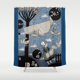 When I read... Shower Curtain