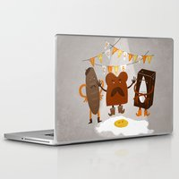 the breakfast club Laptop & iPad Skins featuring Breakfast club by monrix