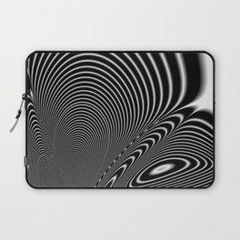 Fractal Op Art 6 Laptop Sleeve