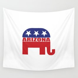 Arizona Republican Elephant Wall Tapestry