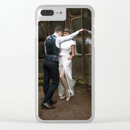 Give and Take Clear iPhone Case