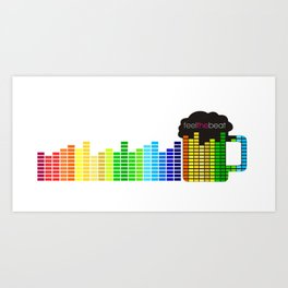 Feel The Beat Art Print