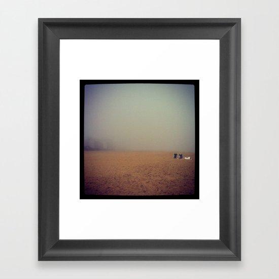 The Bigger Picture Framed Art Print