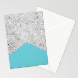 Concrete Arrow - Light Blue #206 Stationery Cards
