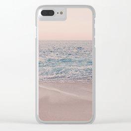 ROSEGOLD BEACH Clear iPhone Case